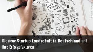 Startup Ladschaft Deutschlandn