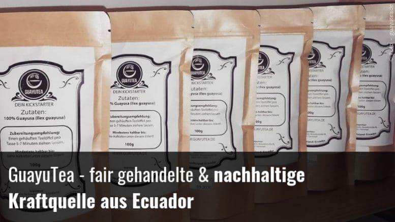 Hochwertiger Guayusa Tee aus Ecuador