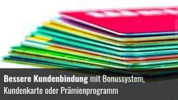 Kundenkarte Bonussystem