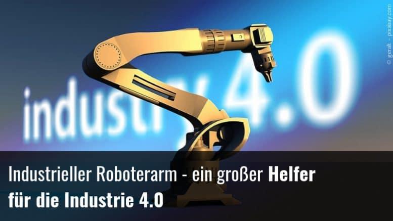 Industrieller Roboterarm