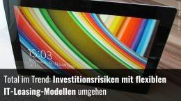 IT-Leasing: Mieten statt kaufen