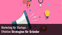 Marketing für Gründer