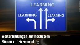 Weiterbildung Einzelcoaching