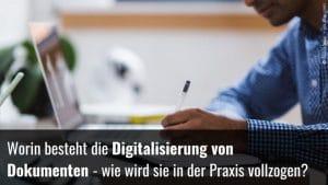 Dokumente digitalisieren