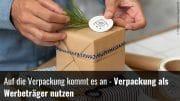 Auf Verpackung werben