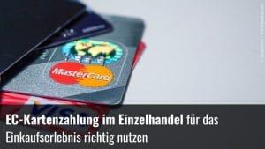 EC-Karten im Einzelhandel