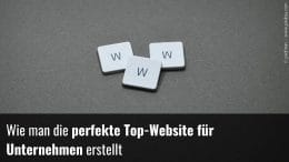Homepage erstellen