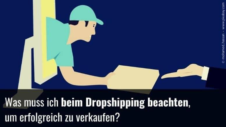Was beim Dropshipping beachten?