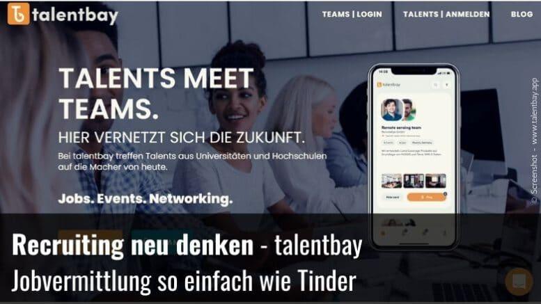 talentbay – die Karriereplattform