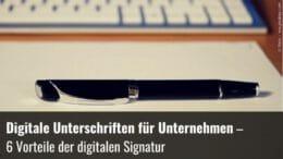 Digitale Signatur