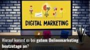 Wie geht Onlinemarketing
