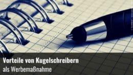 Werbemaßnahme Kugelschreiber
